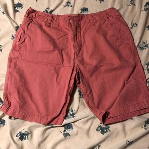 Express salmon pink 9' shorts